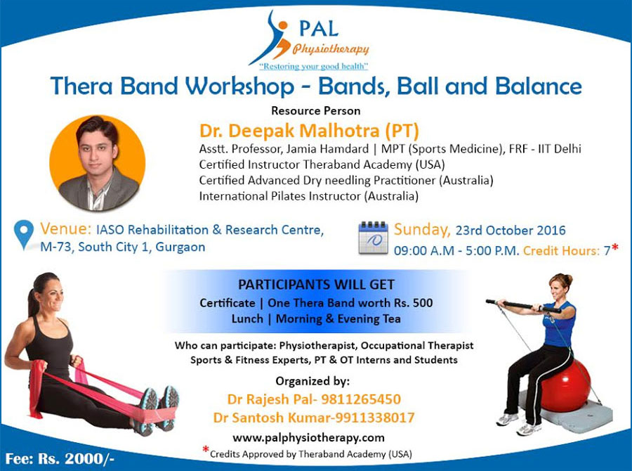 Thera Band Workshop