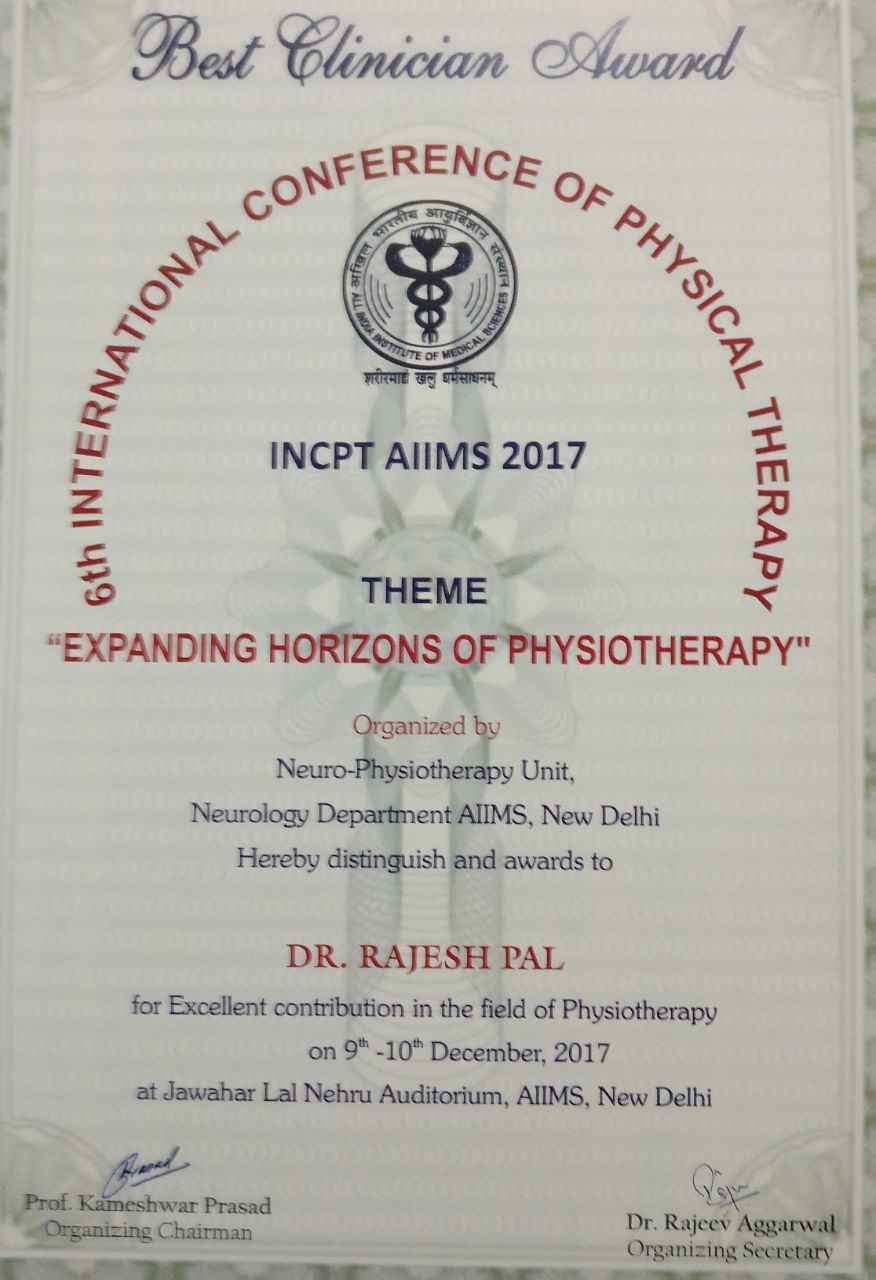 International Conference of Physical Therapy AIIMS
